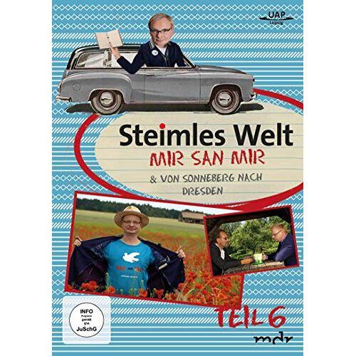 Uwe Steimle - Steimles Welt 6 - Mir san Mir & Von Sonneberg nach Dresden - Preis vom 21.04.2021 04:48:01 h