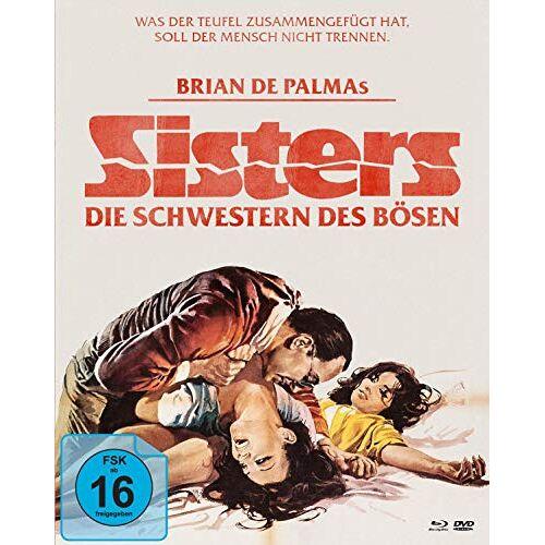 Brian De Palma - Sisters - Die Schwestern des Bösen (+ DVD) (+ Bonus-DVD) [Blu-ray] - Preis vom 20.10.2020 04:55:35 h