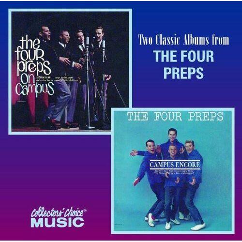 Four Preps - Four Preps on Campus/Campus Encore - Preis vom 18.10.2020 04:52:00 h