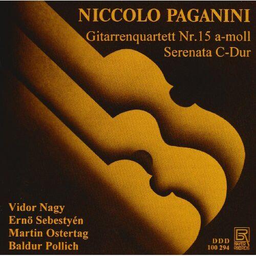 Nagy - Paganini: Gitarrenquartett 15 / Serenata - Preis vom 13.04.2021 04:49:48 h