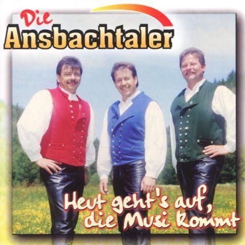 die Ansbachtaler - Heut Geht'S auf,die Musi Kommt - Preis vom 23.01.2021 06:00:26 h