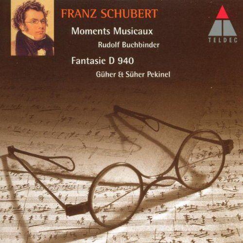 Buchbinder - Moments Musicaux u.a. - Preis vom 31.03.2020 04:56:10 h