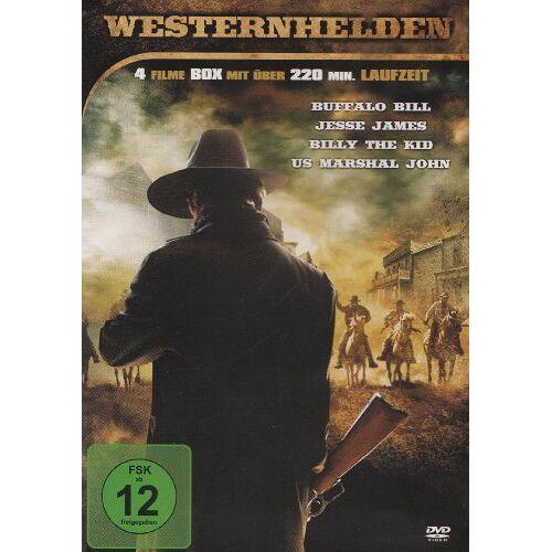 Bernard B. Ray - Westernhelden : Buffalo Bill - Jesse James - Billy The Kid - US Marshal John - 4 Filme - Preis vom 27.01.2020 06:03:55 h