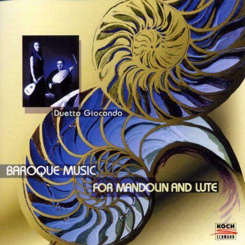 Duetto Giocondo - Barockmusik für Mandoline und Gitarre - Preis vom 11.05.2021 04:49:30 h