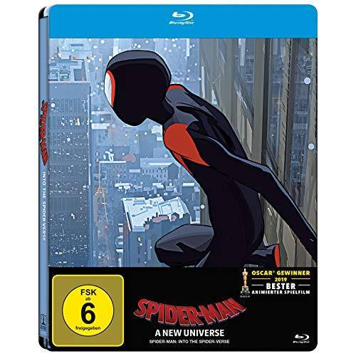 Bob Persichetti - Spider-Man: A new Universe (Blu-ray Steelbook) - Preis vom 31.03.2020 04:56:10 h