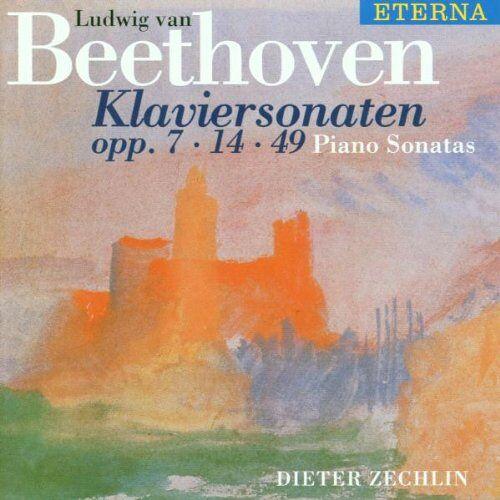 Dieter Zechlin - Klaviersonaten - Preis vom 25.01.2021 05:57:21 h