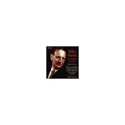 William Primrose - Primrose Aufnahmen 1947 Rca - Preis vom 20.10.2020 04:55:35 h