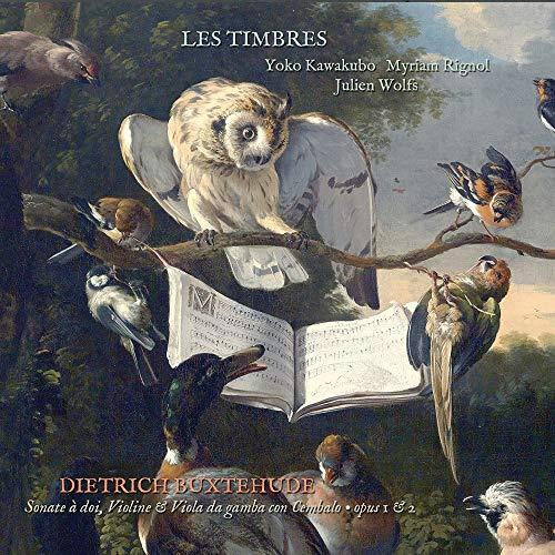 - Buxtehude : Sonate À DOI, Violine & Viola Da Gamba Con Cembalo Opus 1 & 2 - Preis vom 12.05.2021 04:50:50 h