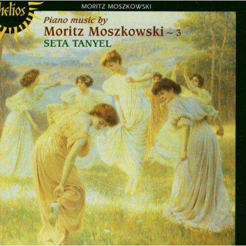 Seta Tanyel - Moritz Moszkowski: Klaviermusik, Vol.3 - Preis vom 18.04.2021 04:52:10 h