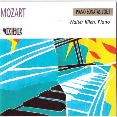 Walter Klein - Mozart;Piano Sonatas Vol.1 - Preis vom 24.02.2021 06:00:20 h