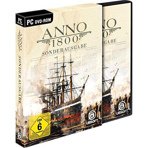 Ubisoft - Anno 1800 Sonderausgabe (inkl. Soundtrack und Lithographien) - [PC] - Preis vom 16.06.2019 04:46:07 h