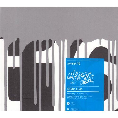 Texta - Sweet 16-Texta Live - Preis vom 06.04.2020 04:59:29 h