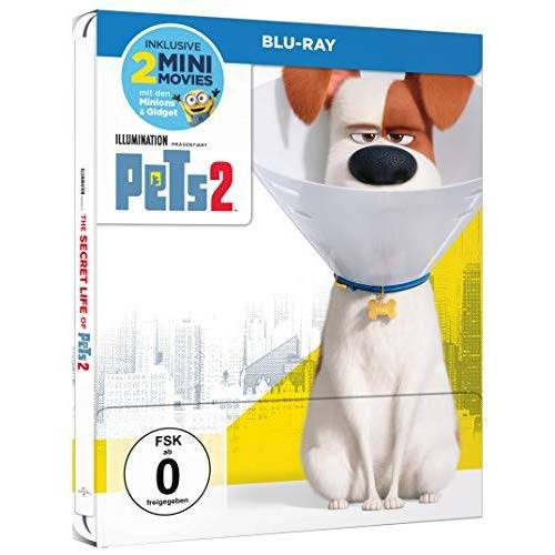 Chris Renaud - Pets 2 (Steelbook) [Blu-ray] - Preis vom 31.03.2020 04:56:10 h