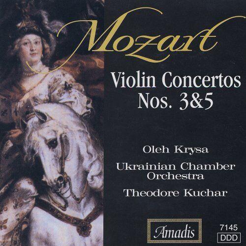 W.a. Mozart - Violinkonzerte 3 & 5 - Preis vom 28.02.2021 06:03:40 h