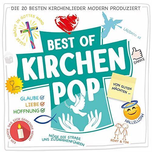 Remy & Tim - Best Of Kirchenpop - Die 20 besten Kirchenlieder modern produziert - Preis vom 16.01.2021 06:04:45 h