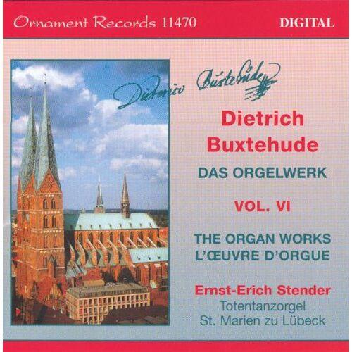 Ernst-Erich Stender - Buxtehude Orgelw.Vol.6 - Preis vom 10.09.2020 04:46:56 h
