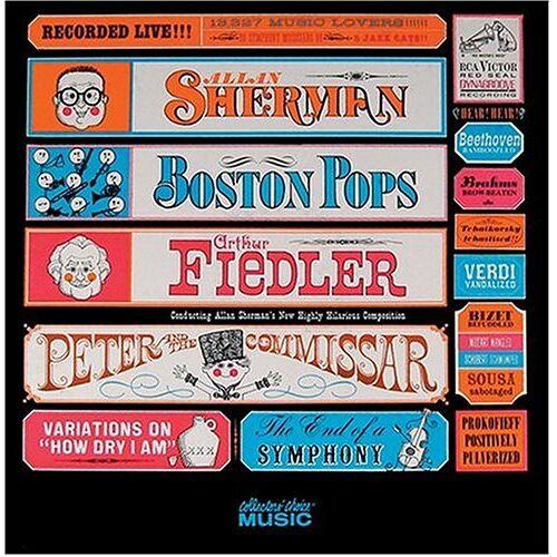 Arthur Fiedler - Peter & the Commissar - Preis vom 25.10.2020 05:48:23 h