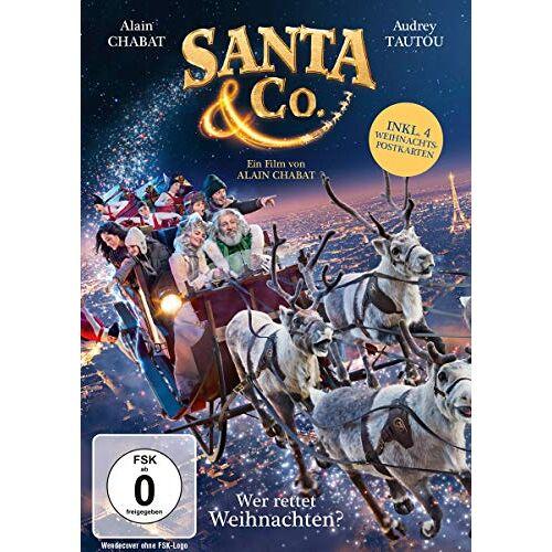 Alain Chabat - Santa & Co. - Wer rettet Weihnachten? (inkl. 4 Postkarten) - Preis vom 22.02.2021 05:57:04 h