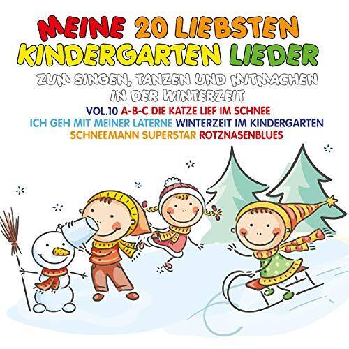 Various - Meine 20 Liebsten Kindergarten Lieder Vol.10 - Preis vom 18.04.2021 04:52:10 h