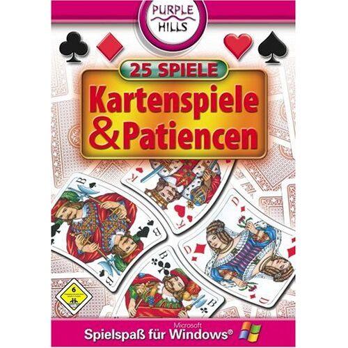 Purple Hills - 25x Kartenspiele & Patiencen - Preis vom 25.01.2021 05:57:21 h