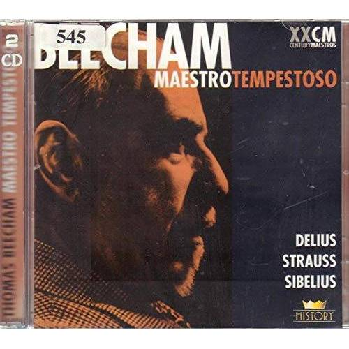 Delius / Strauss / Sibelius - Beecham: Maestro Tempestoso [2xCD] - Preis vom 14.05.2021 04:51:20 h