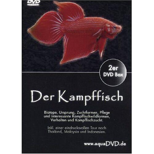 aquaDVD - Der Kampffisch Zierfische Aquarienfische [2 DVDs] - Preis vom 06.09.2020 04:54:28 h