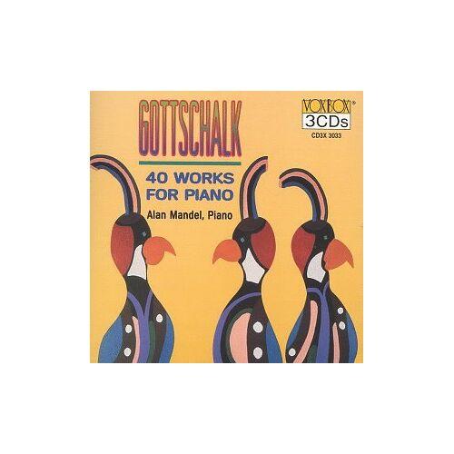 L.M. Gottschalk - Gottschalk 40 Klavierwerke - Preis vom 08.05.2021 04:52:27 h