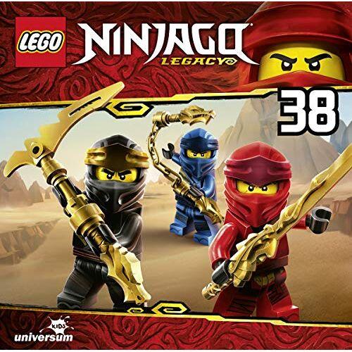 Lego Ninjago-Masters of Spinjitzu - Lego Ninjago (CD 38) - Preis vom 08.04.2020 04:59:40 h