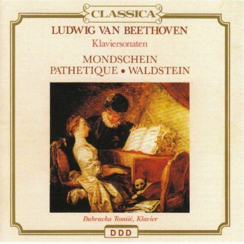 Beethoven - Klaviersonate Nr.8+14+21 - Preis vom 24.02.2021 06:00:20 h