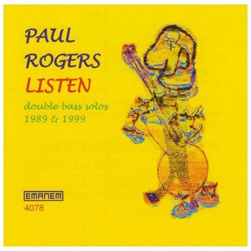 Paul Rogers - Listen - Preis vom 10.04.2021 04:53:14 h