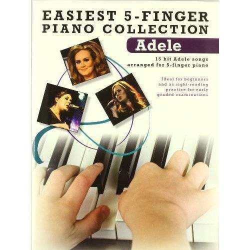 Various - Easiest 5-Finger Piano Collection Adele Book (Easiest 5 Finger Piano Collctn) - Preis vom 19.06.2021 04:48:54 h