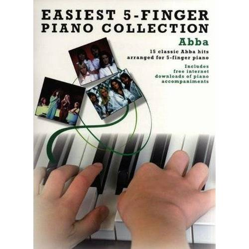 Various - Easiest Five Finger Piano Collection Abba Pf (Easiest 5 Finger Piano Collect) - Preis vom 19.06.2021 04:48:54 h