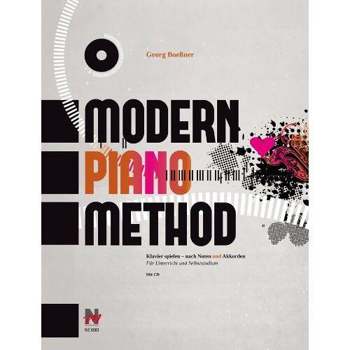 Georg Boeßner - Modern Piano Method: Klavier spielen - nach Noten und Akkorden - Preis vom 19.06.2021 04:48:54 h