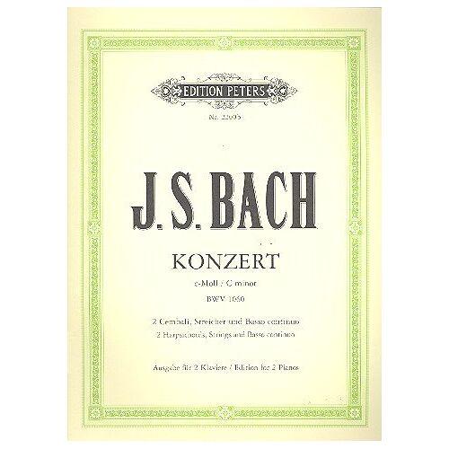 - Konzert C-Moll Bwv 1060 - 2 Klav Str. Klavier, Klavier zu 4 Händen - Preis vom 18.06.2021 04:47:54 h