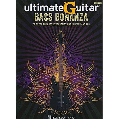 - UltimateGuitar: Bass Bonanza: Songbook für Bass-Gitarre (Bass Recorded Versions) - Preis vom 15.06.2021 04:47:52 h