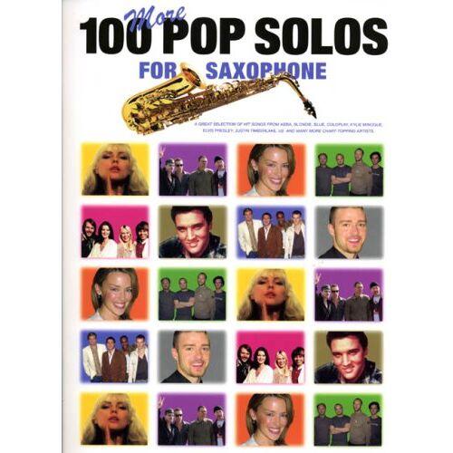 Various - 100 More Pop Solos for Saxophone. Saxophon - Preis vom 22.01.2021 05:57:24 h