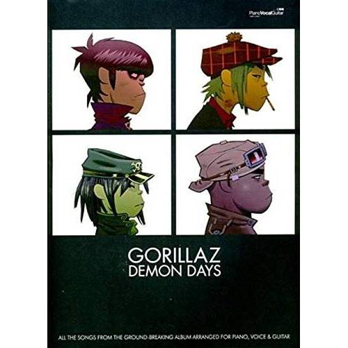 Gorillaz -- Demon Days: Piano/Vocal/Chords: (Piano,Vocal,Guitar) (Pvg) - Preis vom 10.04.2021 04:53:14 h