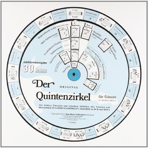 Kai Sievertsen - Der Quintenzirkel für Gitarre (Drehscheibe) - Preis vom 11.05.2021 04:49:30 h