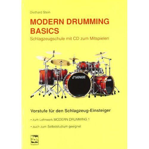 Diethard Stein - Modern Drumming. Schlagzeugschule mit CD zum Mitspielen: Modern Drumming Basics: Schlagzeugschule mit CD zum Mitspielen. Vorstufe für den Schlagzeug-Einsteiger: BD 1 - Preis vom 27.02.2021 06:04:24 h