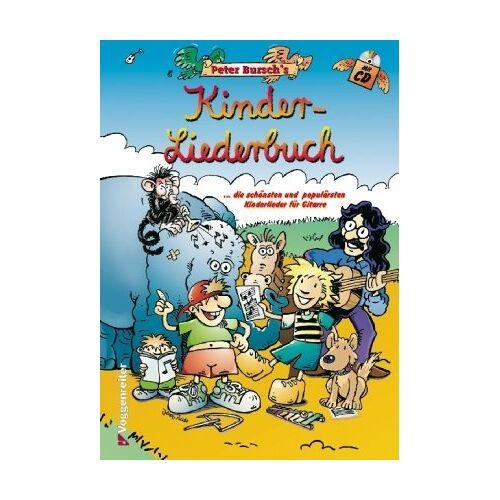 Peter Bursch - Peter Bursch's Kinder-Liederbuch: ...die schönsten und populärsten Kinderlieder für Gitarre - Preis vom 24.01.2021 06:07:55 h