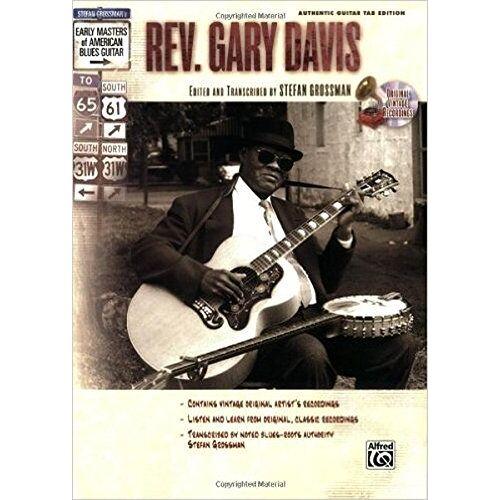 Stefan Grossman - Stefan Grossman's Early Masters of American Blues Guitar: Rev. Gary Davis(incl. CD) - Preis vom 12.04.2021 04:50:28 h