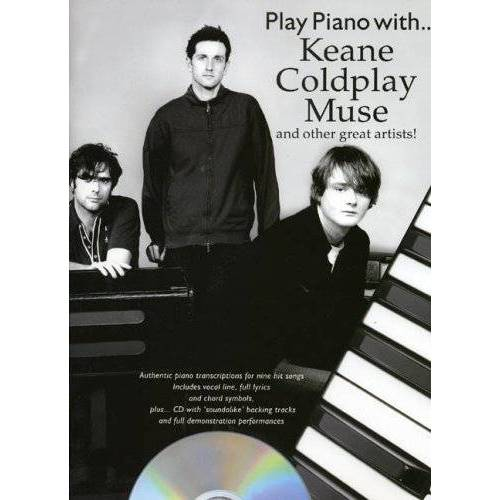 - Play Piano with .... Keane Coldplay Muse - Preis vom 09.05.2021 04:52:39 h