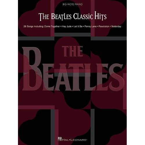 - The Beatles: Classic Hits: Songbook für Klavier (Big Note Piano) - Preis vom 15.04.2021 04:51:42 h