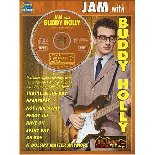 Buddy Holly - Jam with Buddy Holly, (inkl. CD) - Preis vom 20.10.2020 04:55:35 h