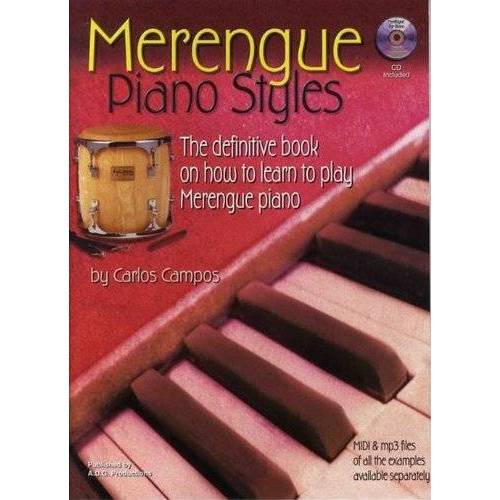 Carlos Campos - Merengue Piano Styles How to learn + cd - Preis vom 23.01.2021 06:00:26 h