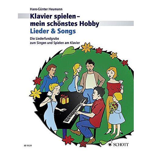 Hans-Günter Heumann - Lieder & Songs: Die Liederfundgrube zum Singen und Spielen am Klavier. Klavier. (Klavier spielen - mein schönstes Hobby) - Preis vom 21.10.2020 04:49:09 h