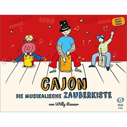 - Cajon - Die musikalische Zauberkiste: Schule für Kinder - Preis vom 12.05.2021 04:50:50 h