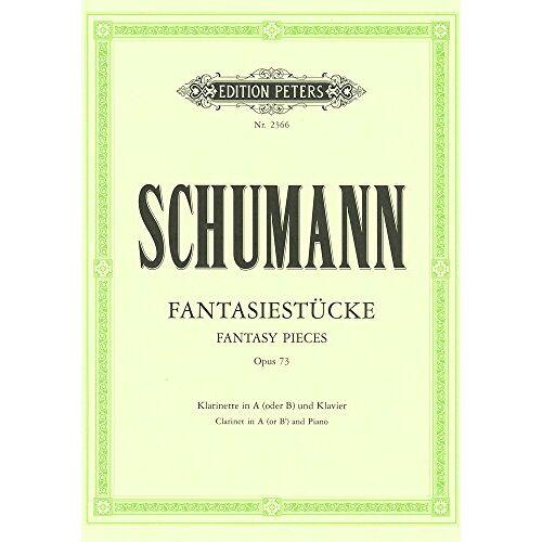 - Fantasiestuecke Op 73. Klarinette, Klarinette in a, Klavier - Preis vom 13.05.2021 04:51:36 h