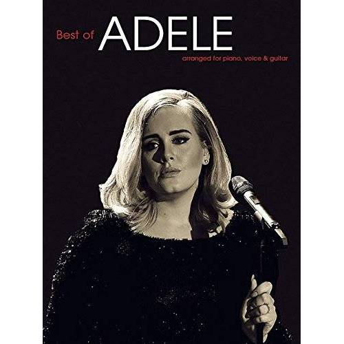 Adele - Adele Best Of (Piano Voice Guitar Book Updated Edition) - Preis vom 24.02.2021 06:00:20 h