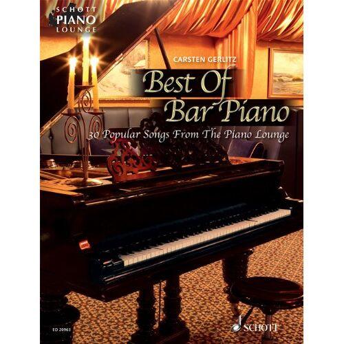 Carsten Gerlitz - Best Of Bar Piano: 30 populäre Songs aus der Piano Lounge. Klavier. Songbook. (Schott Piano Lounge) - Preis vom 21.04.2021 04:48:01 h
